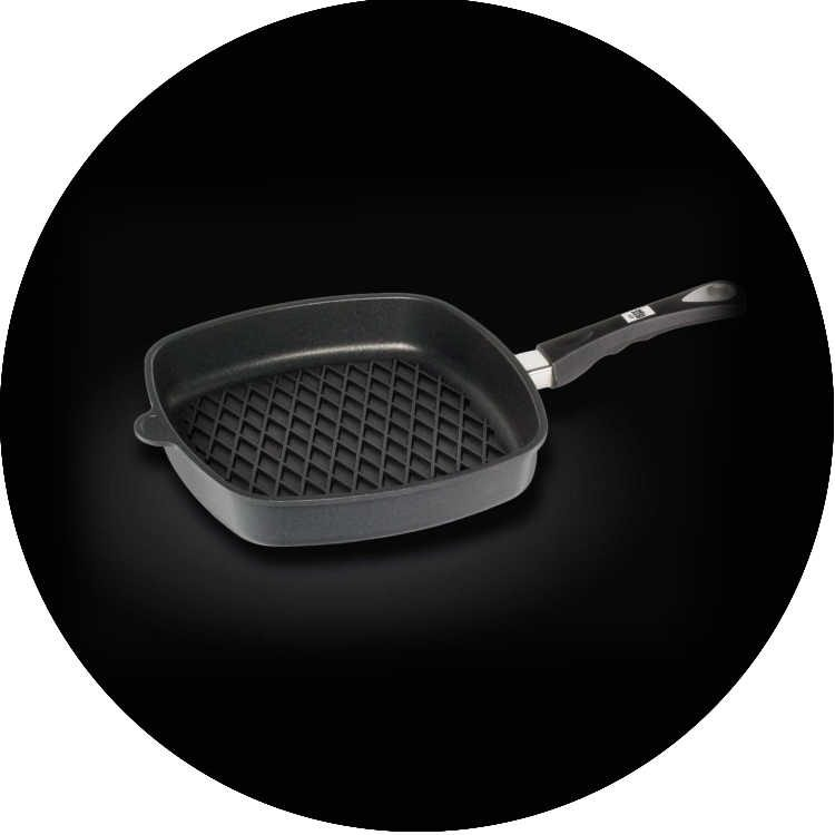 AMT Gastroguss Barbeque Exclusive Square Pan 28x28x5cm