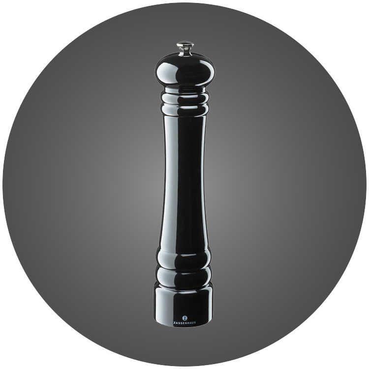 Zassenhaus Siyah 30cm Baharat - Tuz Değirmeni